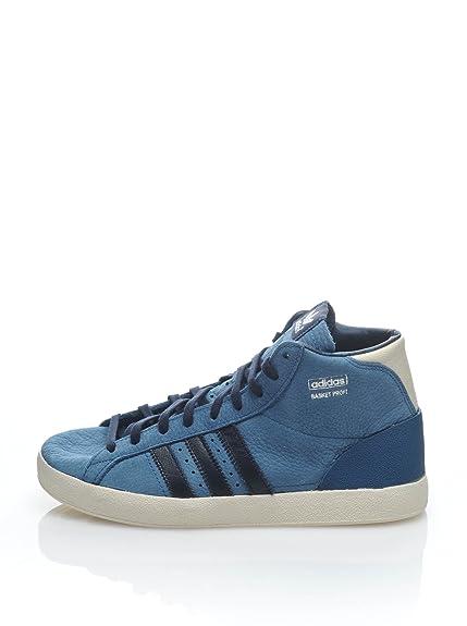 adidas Zapatillas Abotinadas Basket Profi EF K Azul EU 28: Amazon.es: Zapatos y complementos