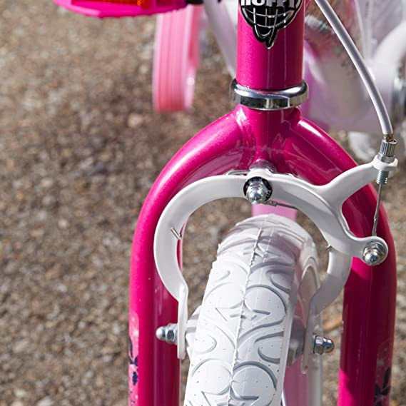 Amazon.com: Huffy - Bicicleta infantil para niña, diseño de ...