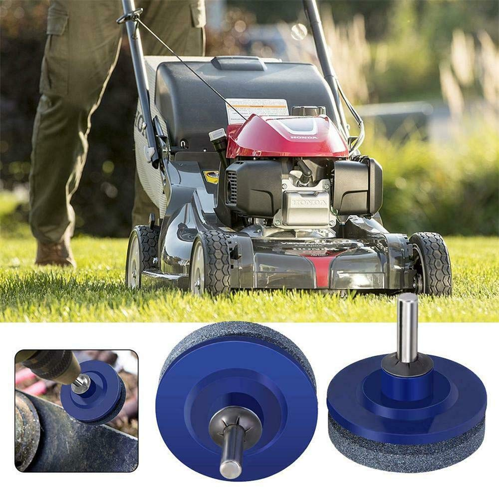 ExcLent Mower Blade Drill Lawnmower Lawn Mower Sharpener For ...