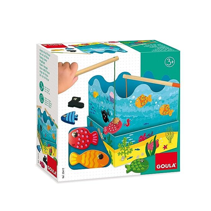 Goula - Mis primeros juegos: juego de la pesca (Diset 53412): Amazon.es: Juguetes y juegos