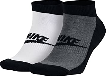 Nike NSW Mens 2PPK Futura NO Show Pack 2 Pares de Calcetines, Hombre, Rojo, S: Amazon.es: Deportes y aire libre
