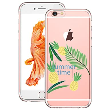 coque silicone iphone 6 plante