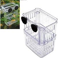 UEETEK Caja de incubacion Peces Tanque incubadora Caja