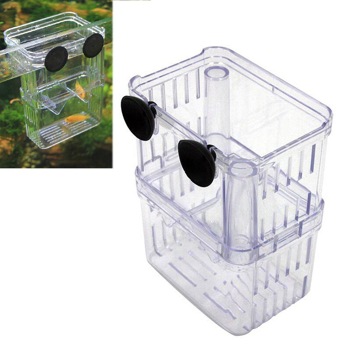 UEETEK Caja de cr/ía aislamiento de peces de acuario criadero criador incubadora caja