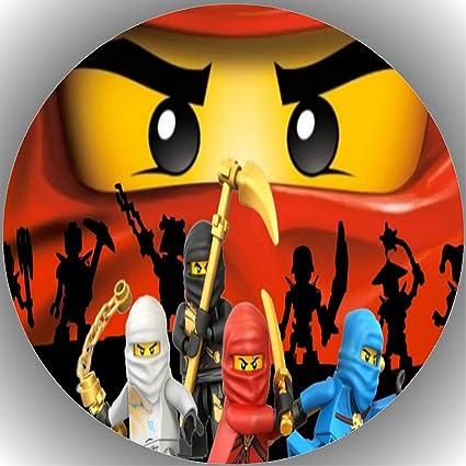 1 Fondant Tortenaufleger Geburtstag  Lego Ninjago  T20 Kochen & Genießen