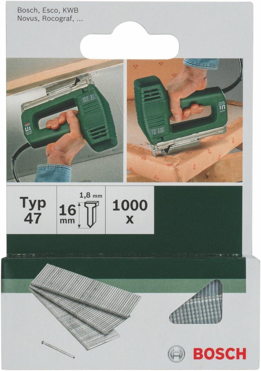 Bosch 2 609 255 809 - Clavo tipo 47 (pack de 1000): Amazon.es: Bricolaje y herramientas
