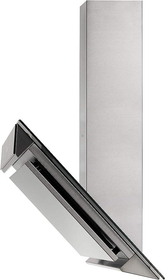 Campana extractora de pared (60 cm, acero inoxidable, cristal, extra silenciosa, 608m³/h, 4 escalones, iluminación LED, Touch, desbordamiento automático) FREE6004TC - KKT KOLBE: Amazon.es: Hogar
