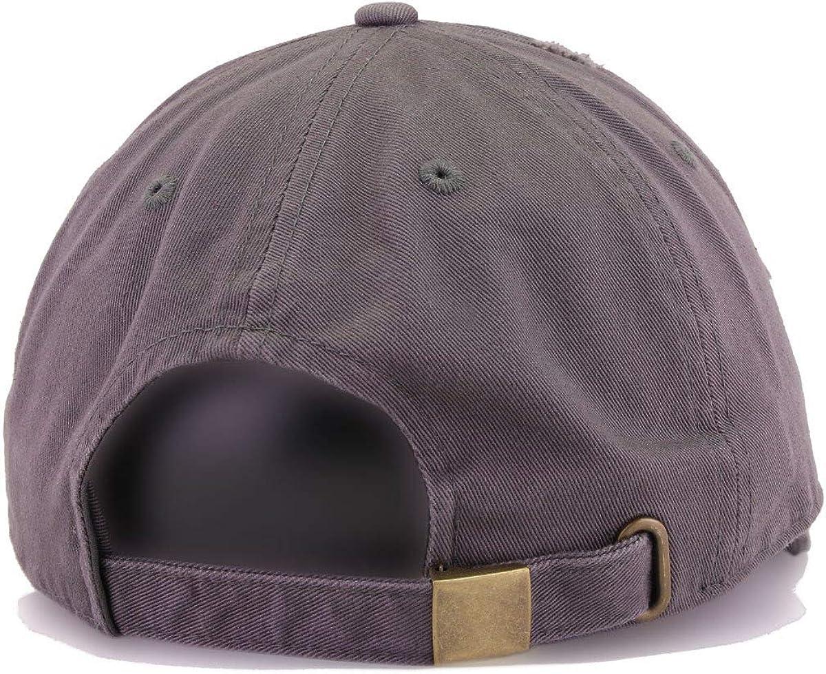 DSGN By DNA Middle Finger Dad Baseball Cap Embroidered Cotton Adjustable Dad Hat