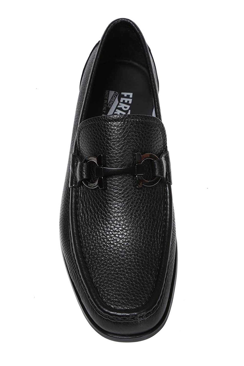 Salvatore Ferragamo - Mocasines para hombre negro negro IT - Marke Größe, color negro, talla 39 IT - Marke Größe 6: Amazon.es: Zapatos y complementos