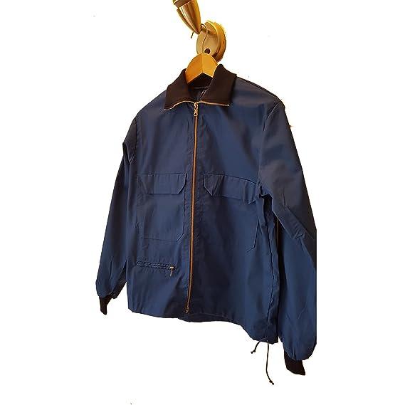 1dbc8148 1960's Vintage Blue Sports Jacket (Large) - Smart Casual/Men's Retro  Fashion/