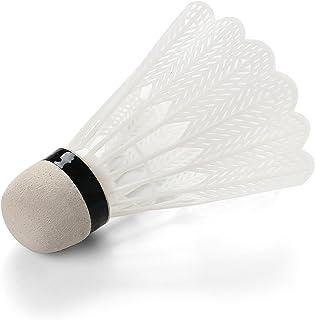 Volants Blancs pour Badminton Extérieur Et Intérieur (Paquet De 100) Komonee