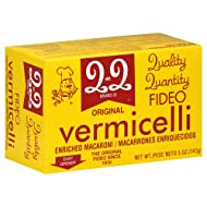 Q&Q Vermicelli Pasta (Fideo) (Pack of 6) (Original - 5oz Box)