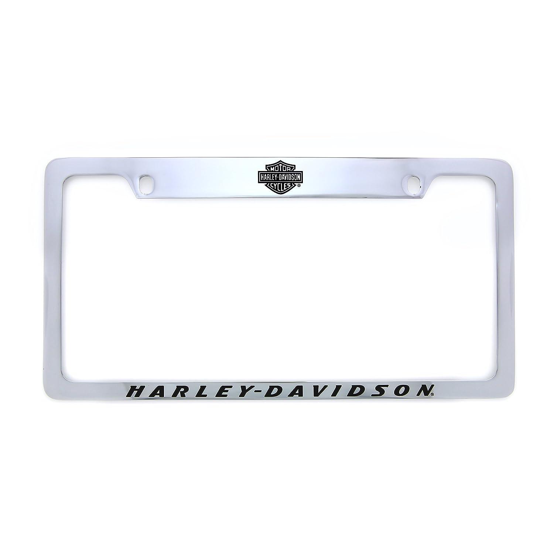 Harley-Davidson Nummernschild Rahmen Halter mit Bar & Shield: Amazon ...