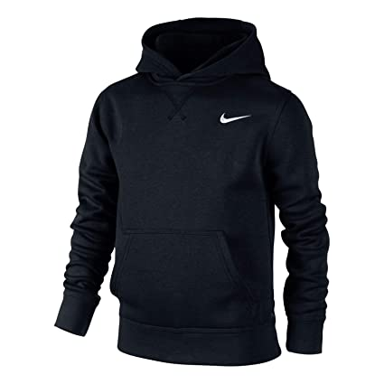 670935af89c Amazon.com  Nike YA76 Brushed Fleece Pullover Older Boys  Hoodie ...