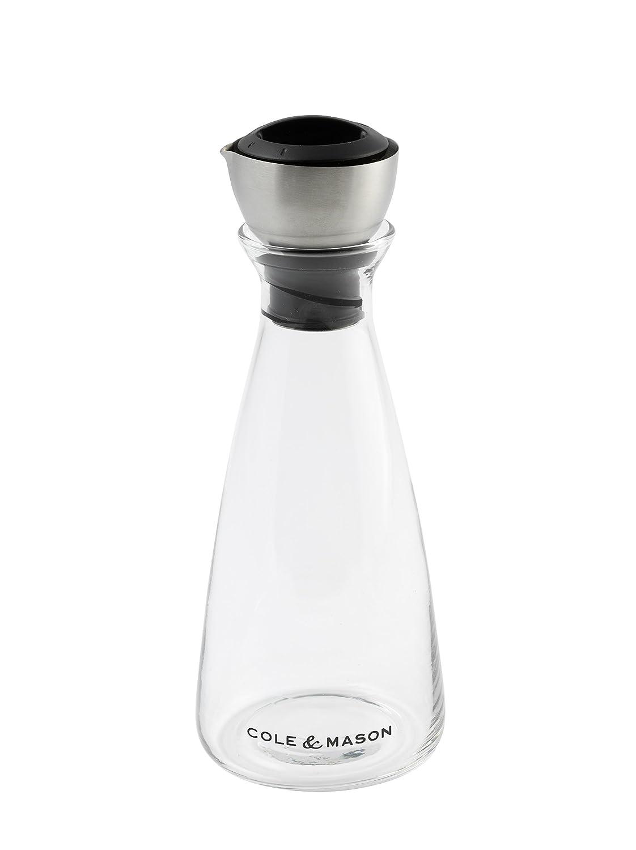 Cole & Mason H103489 Flow Select Oil and Vinegar Pourer, Transparent/Silver 2349240