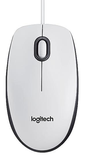 0243b1cf2fa Logitech 910-005004 M100 USB Mouse for PC - White: Amazon.co.uk ...