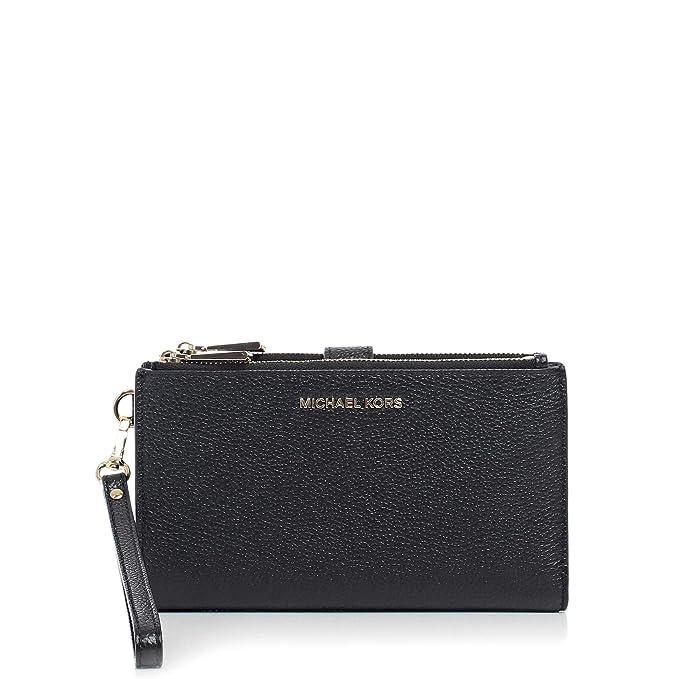 058114570e5 Michael Kors Women's Leather Wallets, 32T7GAFW4L_001_BLACK: Amazon ...