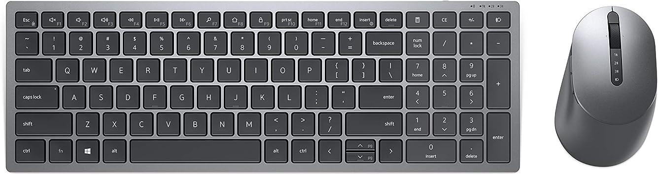 Dell KM7120W, inalámbrico, multimedia, teclado y ratón, UK ...