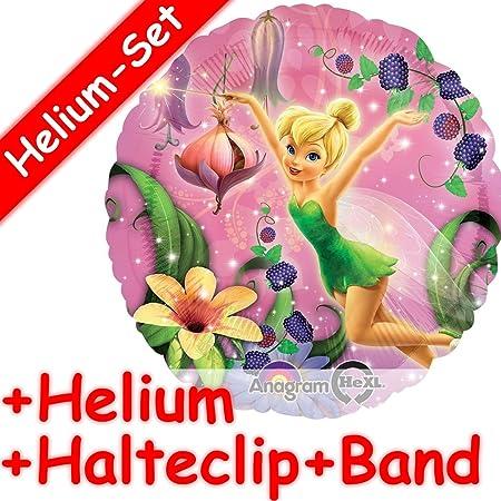 Redondo Globo Juego * Tinkerbell * + Helium Relleno + Clip ...
