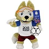 FIFA 2018 FIFA Weltmeisterschaft 2018 - Plüschmaskottchen Zabivaka 18 cm