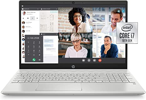 Amazon Com Hp 15 Cs3019nr Pavilion 15 6 Inch Laptop Intel Core I7 Mineral Silver Computers Accessories