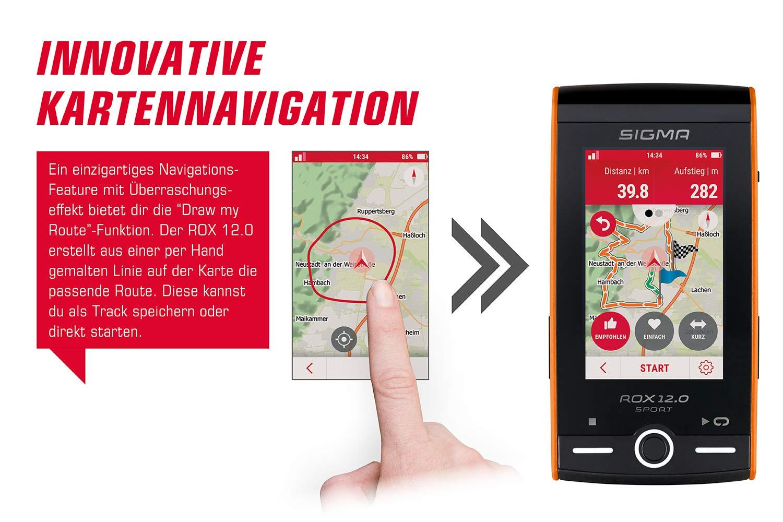 Sigma ROX 12.0 Innovative Kartennavigation