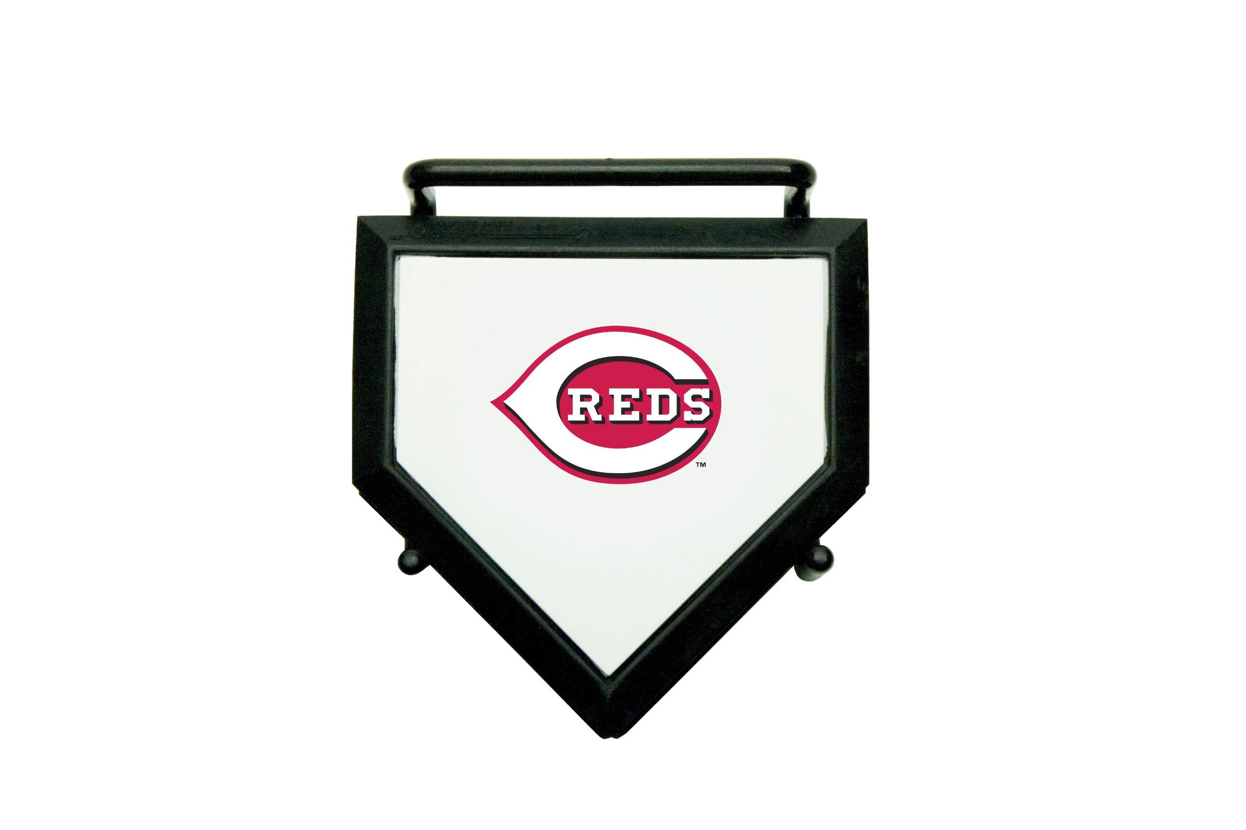 MLB Cincinnati Reds Home Plate 4-pack Coaster Set