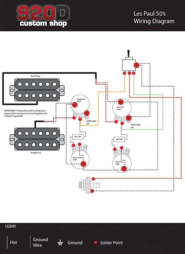Epiphone Les Paul Ultra Wiring Diagram