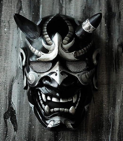 Hannya Kabuki - Máscara de demonio de guerrero y guerrero ...