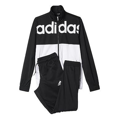 adidas TS BTS - Chándal para hombre, color negro / blanco, talla ...