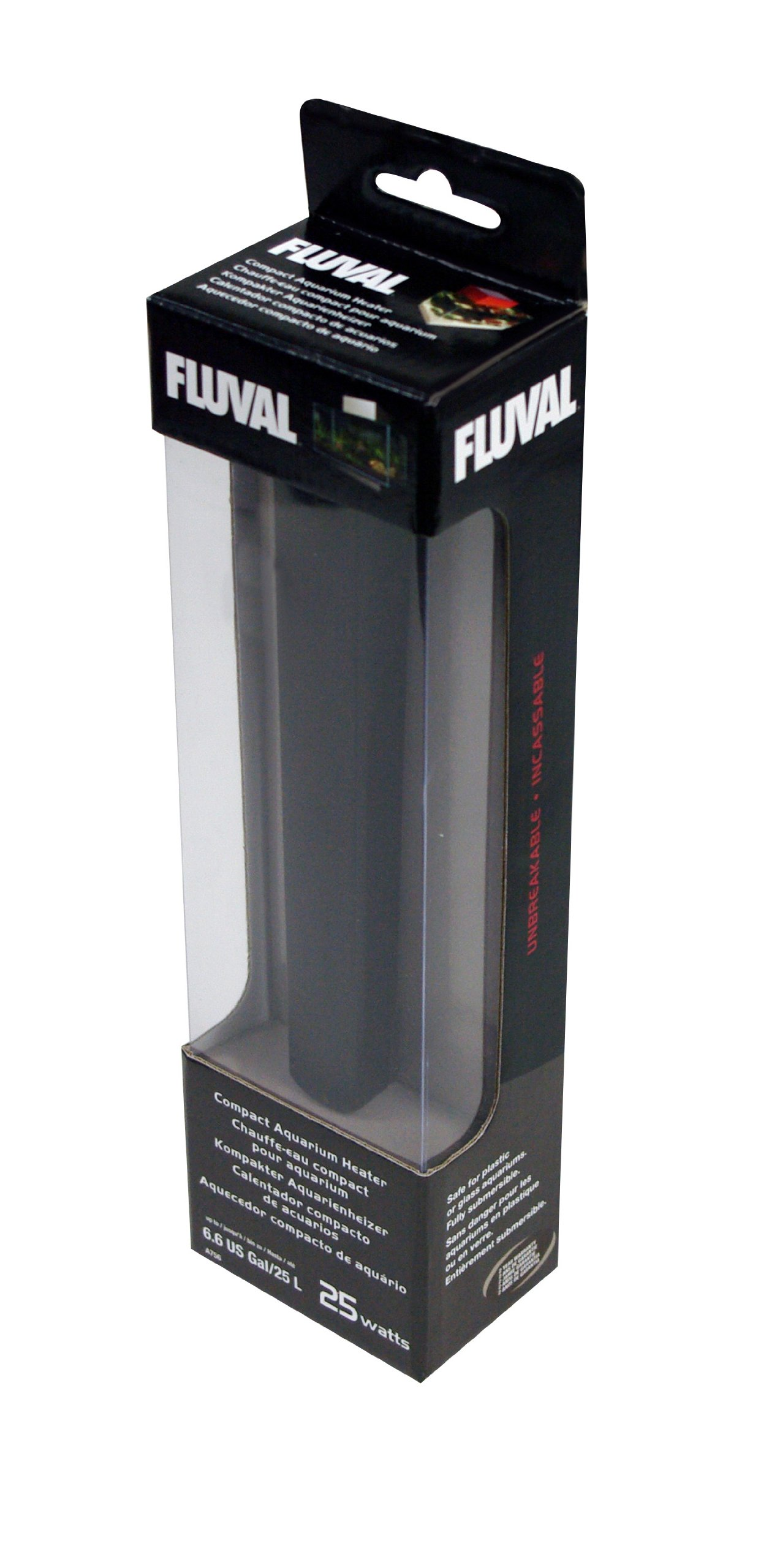 Fluval Edge Compact Aquarium Heater (25 w) by Fluval (Image #2)