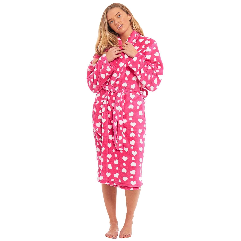 Ladies Robe Ladies Nightwear Vintage Nightwear Dressing Gown Polka Dot Robe Cotton Robe Made In UK Vintage Dressing Gown Spotty Robe