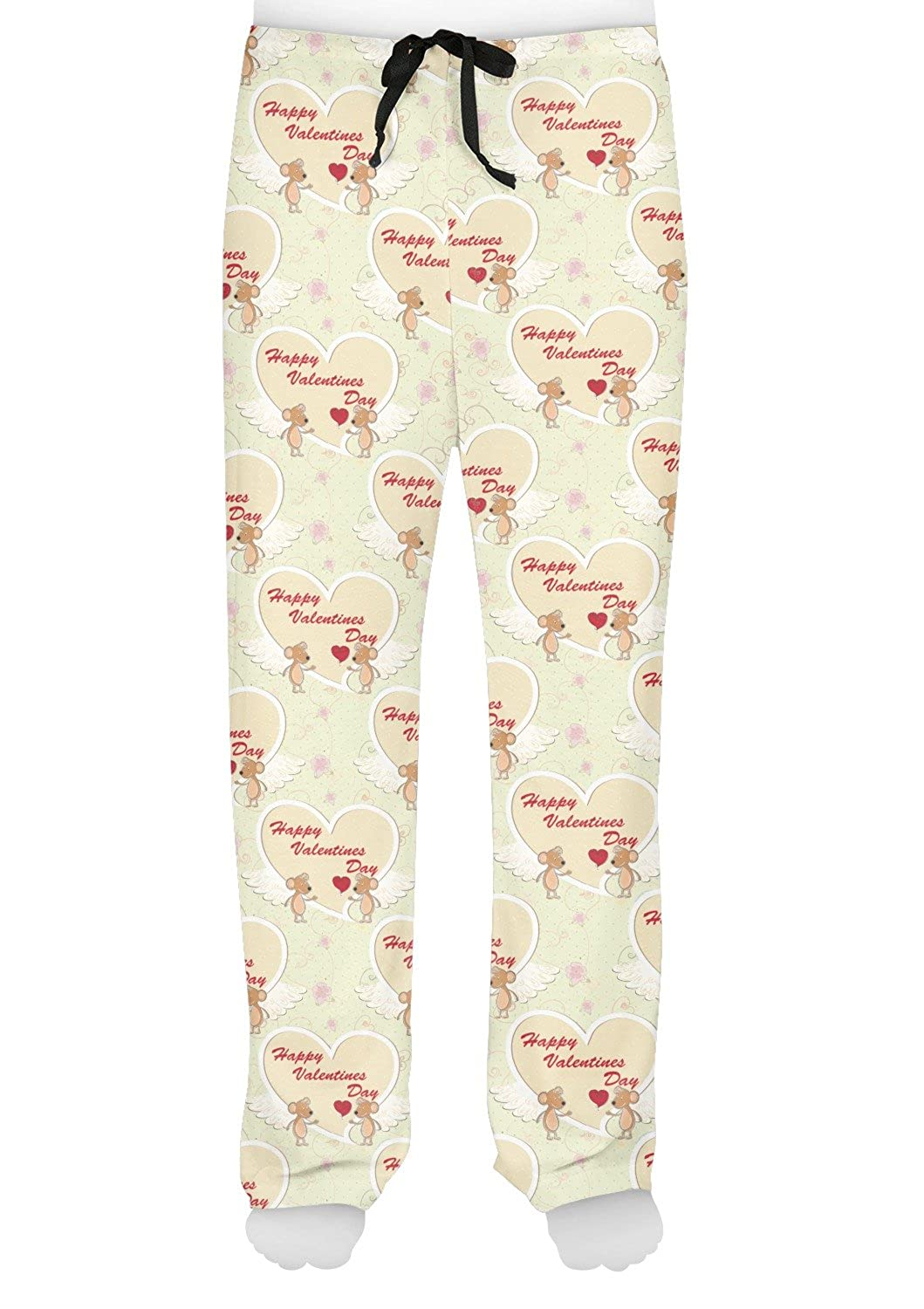 Personalized Mouse Love Mens Pajama Pants