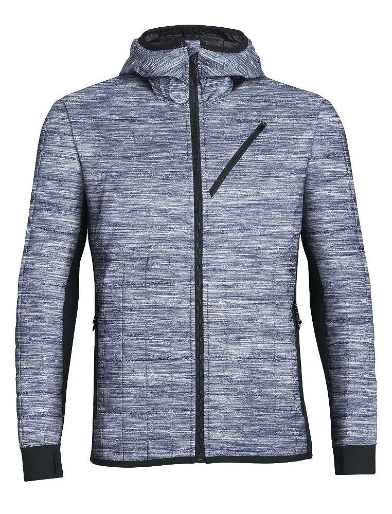 fae7657a5d7 Amazon.com: Icebreaker Merino Men's Helix Hooded Jacket, Merino Wool:  Clothing