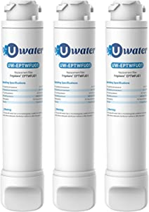 Water filter Uwater ẸPTWFU01, Compatible with Puresource Ultra II, Puresource Ultra 2, EWF02 (Pack of 3)