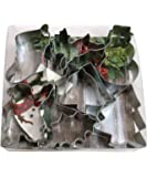 R&M International 1905 Christmas Cookie Cutters, Assorted Designs, 15-Piece Set