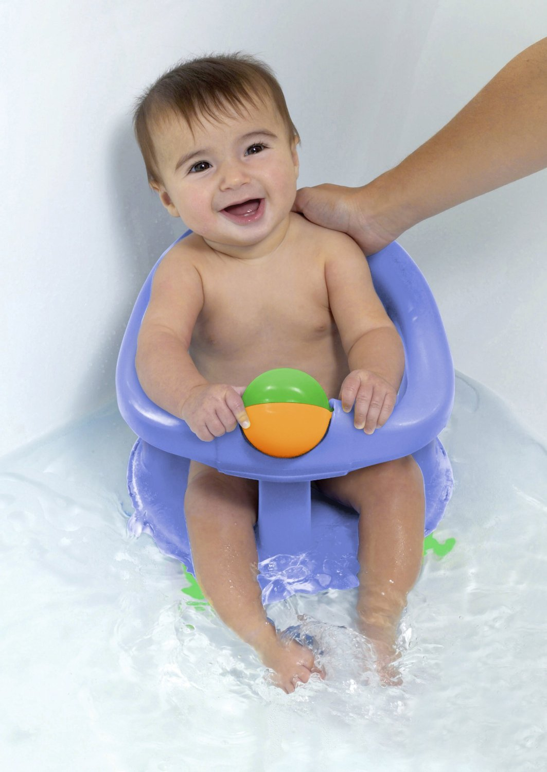 Safety 1st Swivel Bath Seat - Pastel Blue: Amazon.ca: Baby