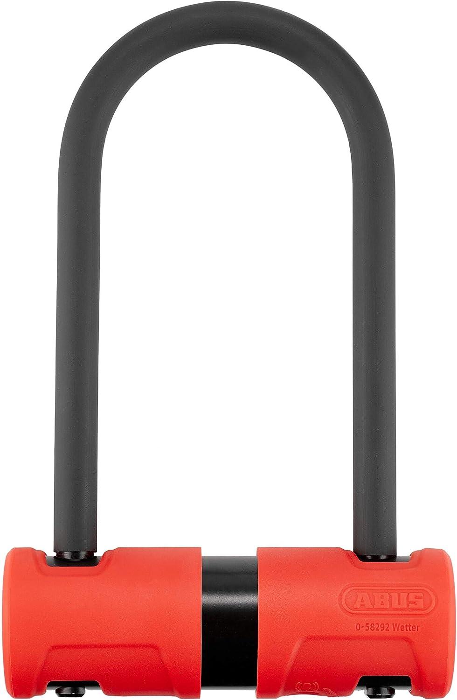Abus Unisex Adulto 440A//150HB160 USH Alarma Candado de Bicicleta Red HB160