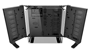 Thermaltake Core P7 TG Torre Negro - Caja de Ordenador (Torre, PC, SGCC