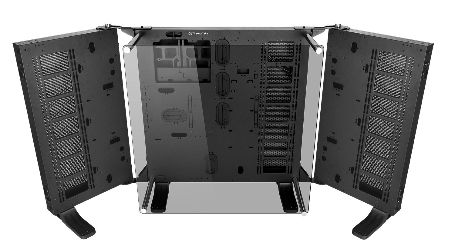 Thermaltake Core P7 Tempered Glass Edition E-ATX Open Frame Panoramic Viewing Tt LCS Certified Gaming Computer Chassis CA-1I2-00F1WN-00 by Thermaltake (Image #1)