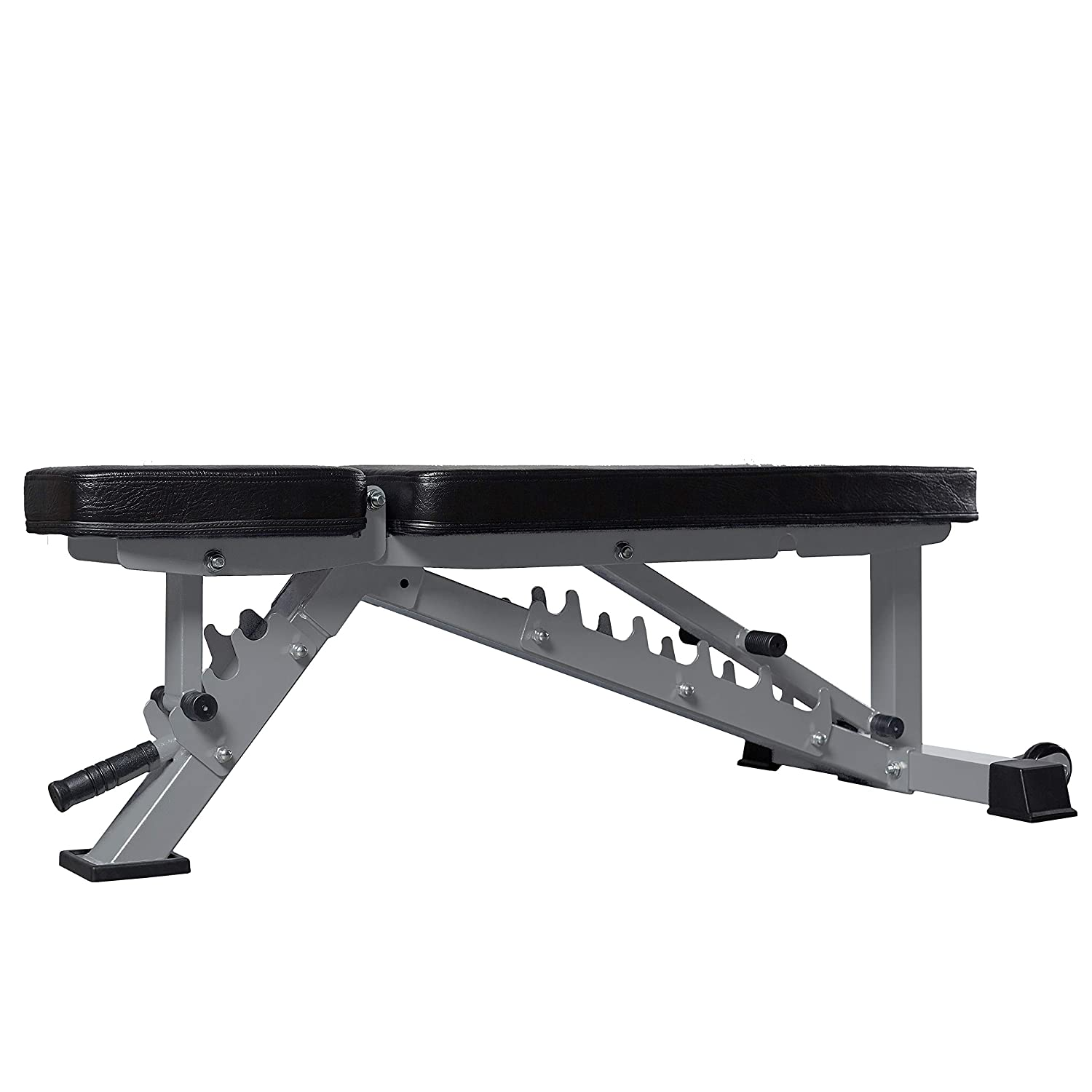 Rep fitness adjustable bench lb rated for home and garage