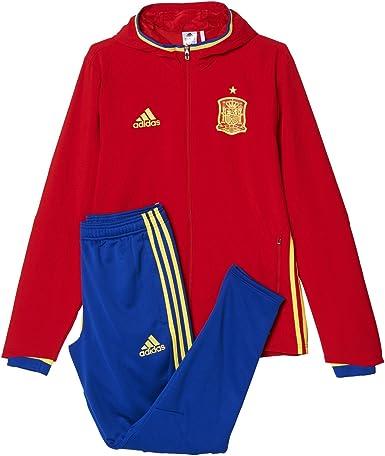 adidas Federación Española de Fútbol Pre Suit 2016 - Traje de chándal: Amazon.es: Ropa y accesorios
