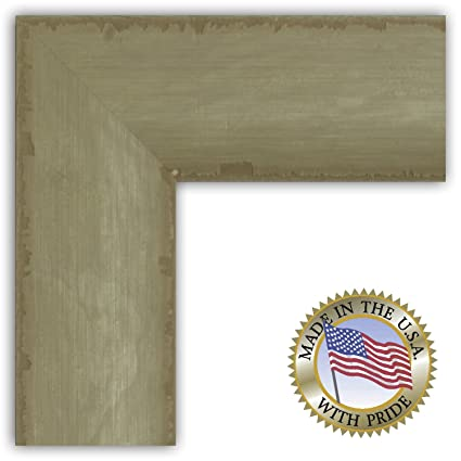 Buy ArtToFrames 19x36 / 19 x 36 Picture Frame Flat Mustard Real ...