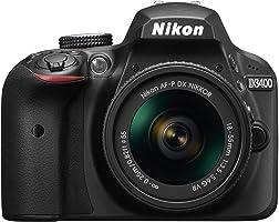 NIKON   CAMERA D3400 DSLR COM LENTE 18-55 MM