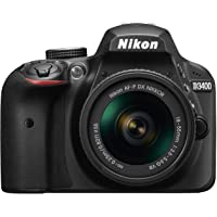 Nikon D3400 w/ AF-P DX NIKKOR 18-55mm f/3.5-5.6G VR DSLR Camera