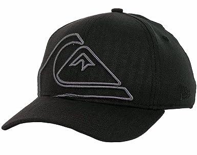 cc793392212 Quiksilver New Era 39Thirty Stretch Flex Hat Cap Reform (Medium-Large
