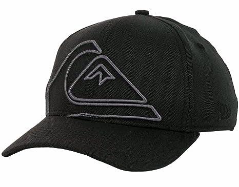 fdf2aa24ead Quiksilver New Era 39Thirty Stretch Flex Hat Cap Reform (Medium-Large