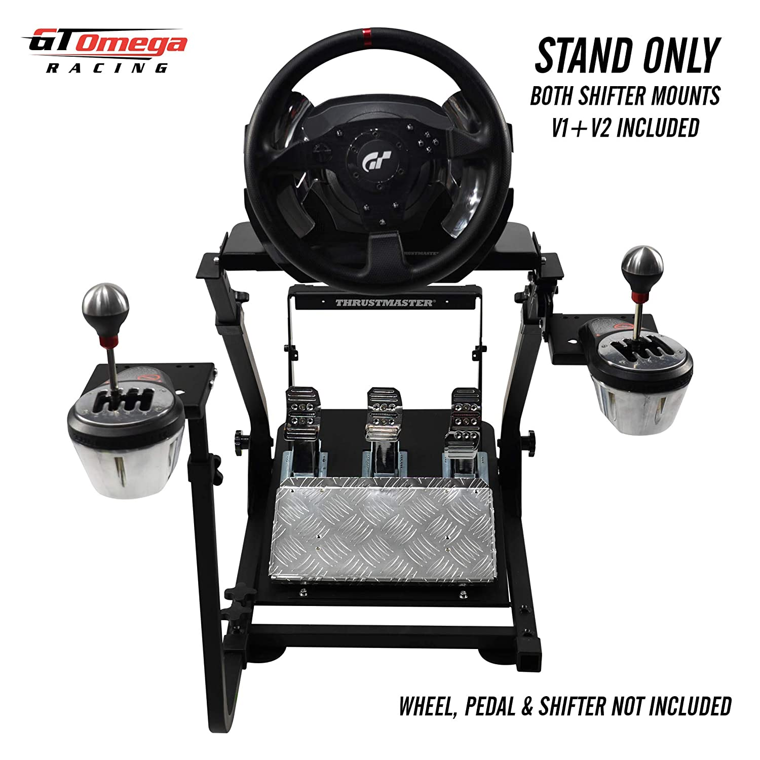 GT Omega Steering Wheel Stand PRO for Thrustmaster T500 RS Force