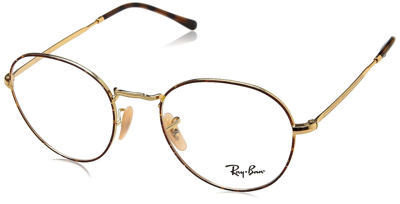 e3c08b94da Amazon.com  Ray-Ban Unisex RX3582V Eyeglasses Gold On Top Havana 51mm   Clothing