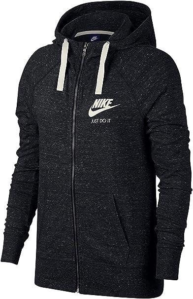 Nike Sportswear Gym Vintage Hoodie Fz Sweat à Capuche Femme